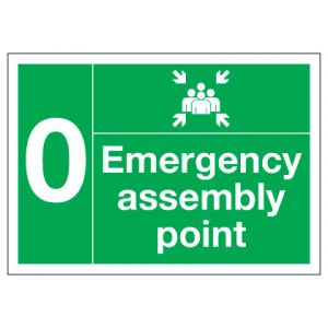 Emergency Assembly Point Numbered