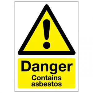 Danger Contains Asbestos