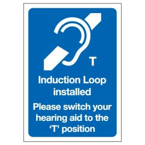 Induction Loop Installed