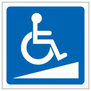 Wheelchair Ramp Logo