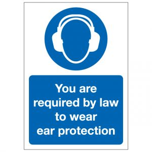 You Are Required By Law To Wear Ear Protection