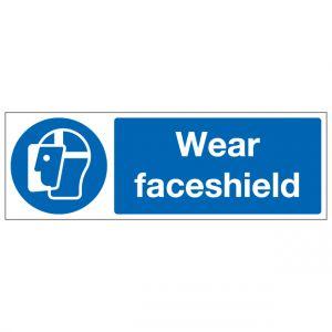 Wear Faceshield