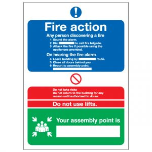 Fire Action Notice Your Assembly Point Is