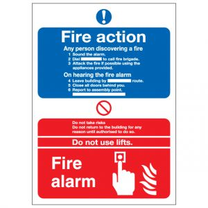 Fire Action Notice Fire Alarm