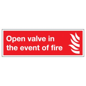 Open Valve In The Event Of Fire
