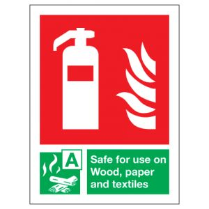 Fire Extinguisher Safe For Use On Wood Paper Textiles
