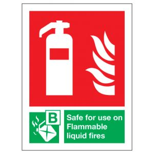 Fire Extinguisher Safe For Use On Flammable Liquid Fires