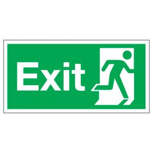 Exit Running Man Right