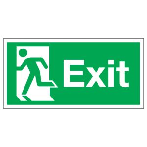 Exit Running Man Left