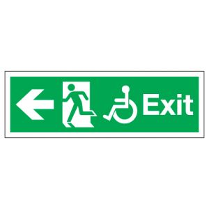 Exit Disabled Access With Left Arrow