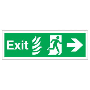 Exit With Right Arrow