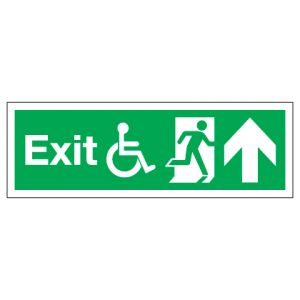 Exit Disabled Access With Up Arrow