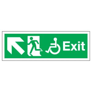Exit Disabled Access With Up Left Arrow