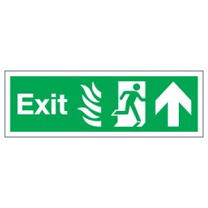 Exit With Up Arrow