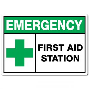 Emergency First Aid Station