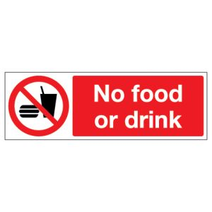 No Food Or Drink