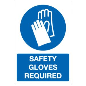 Safety Gloves Required