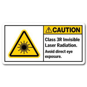 Class 3R Invisible Laser Radiation Avoid Direct Eye Exposure