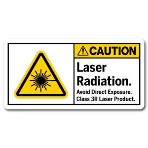 Laser Radiation Avoid Direct Exposure Class 3R Laser Product