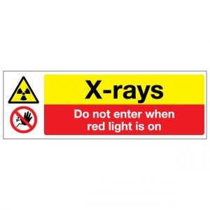 Xrays Do Not Enter When Red Light Is On