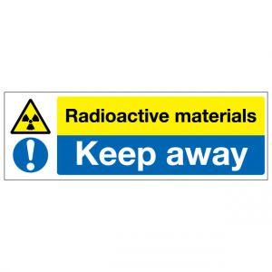 Radioactive Materials Keep Away