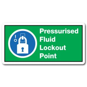 Pressurised Fluid Lockout Point