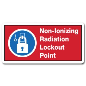 Non Ionizing Radiation Lockout Point