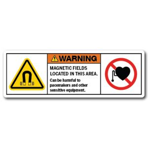 Magnetic Fields Located In This Area Can Be Harmful To Pacemakers And Other Sensitive Equipment