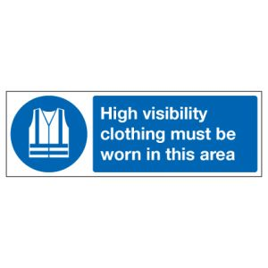 High Visibilty Clothing Must Be Worn In This Area