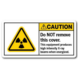 Do Not Remove This Cover This Equipment Produces High Intensity X-ray Beams When Energized