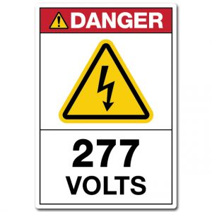 Danger 277 Volts