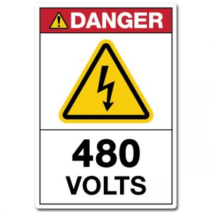 Danger 480 Volts