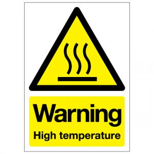 Warning High Temperature