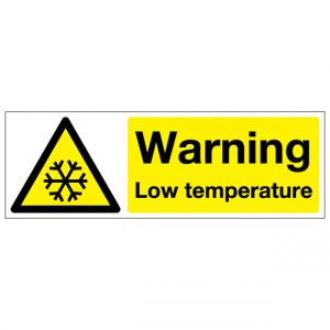 Warning Low Temperature