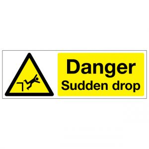 Danger Sudden Drop