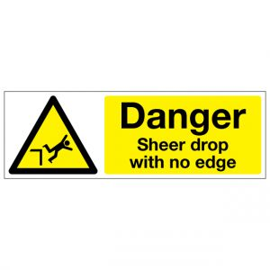 Danger Sheer Drop With No Edge