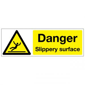 Danger Slippery Surface
