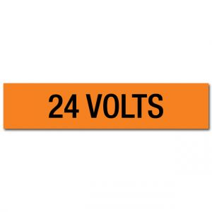 24 Volts Voltage Marker
