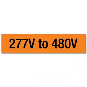 277V to 480V Voltage Marker