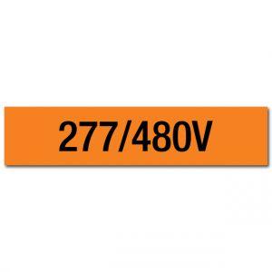 277/480V Voltage Marker